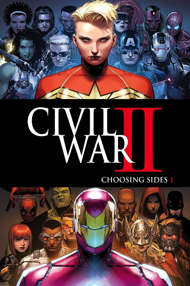 More Marvel's Civil War II Tie-In Comics Revealed