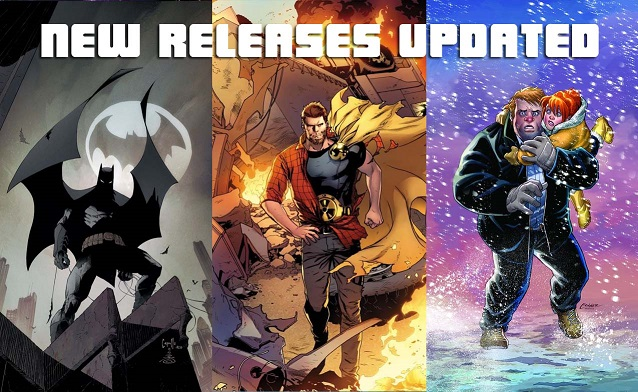 Weekly Comic List – March 16th, 2016