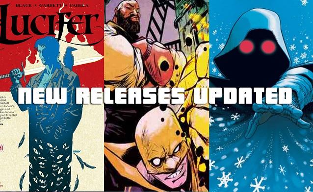 Weekly Comic List – February 17th, 2016