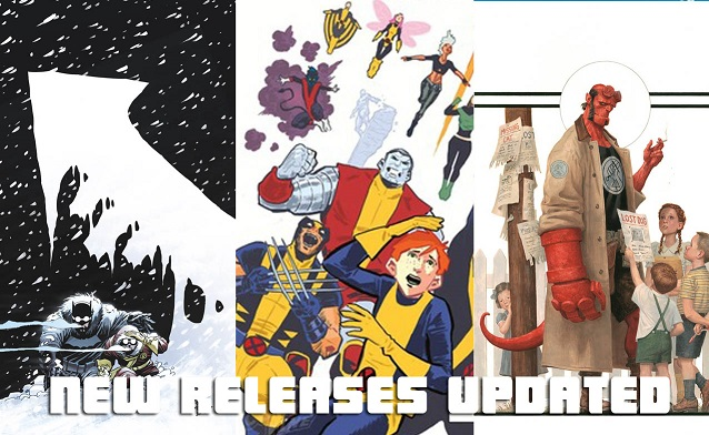 Weekly Comic List – February 24th, 2016
