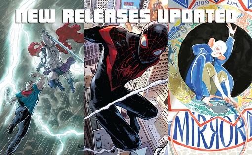 Weekly Comic List – February 3rd, 2016