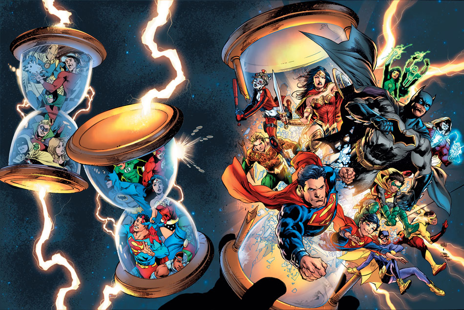 DC UNIVERSE REBIRTH #1 Gets Third Printing, First Wave Of REBIRTH One-Shots Get Seconds